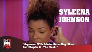 "Syleena Johnson - Argument With Jaheim Recording ""More"" For ""Chapter 3:The Flesh"" (247HH Exclusive)"