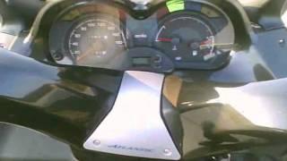 10. Aprilia Atlantic 500 drive
