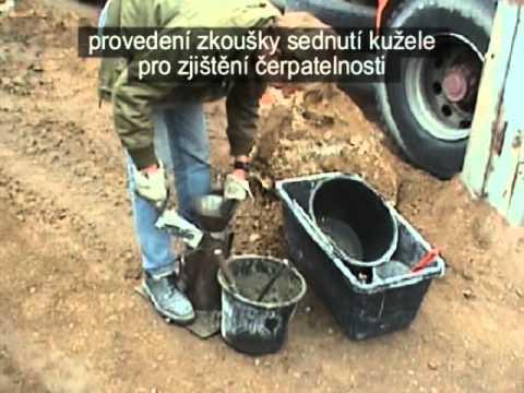 Betonáž - Zkouška