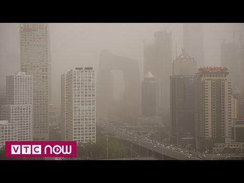 Trung Quốc đối mặt với bão cát | VTC1 - Thời lượng: 54 giây.