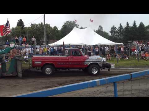 Teulon tractor pull 2013 4x4 open modified class