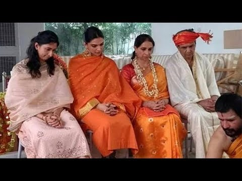 Video Deepika Padukone Doing Puja After Wedding with her Family download in MP3, 3GP, MP4, WEBM, AVI, FLV January 2017