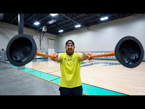 Plunger Trick Shots   Dude Perfect