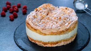 Kvæfjordkake - Norwegian Verdens Beste - World's Best Cake