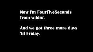 Video Rihanna - Four Five Seconds ft. Kanye West & Paul McCartnery [LYRICS] MP3, 3GP, MP4, WEBM, AVI, FLV Agustus 2018