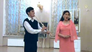 EARLYMUSIC 2009 The opening concert of the festival Potemkin Palace. Traditional Bashkir music. Nazira Gabbasova - voice. RInat Kamalov - kurai.