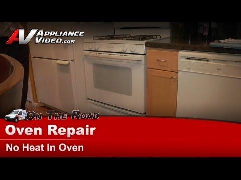 GE Gas Stove Repair – No heat in oven – JGBP30WEA5WW