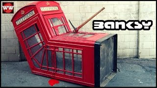 Download Video Banksy's 10 Most Amazing Works Of Art! MP3 3GP MP4