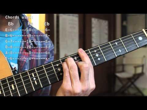Diego Garcia  - You Were Never There  - Rhythm Guitar Lesson