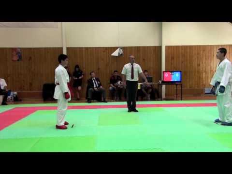 KUMITE-Kosei higurashi(FRK)- Hamilton Open 2012