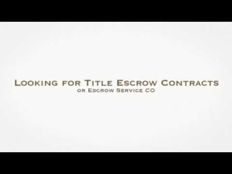 (970) 658-9120 | Title escrow contracts & escrow service CO @ American Title Services, Fort Collins