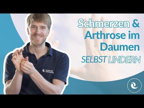 Schmerzen & Arthrose im Daumen - Übungen gegen den Schmerz