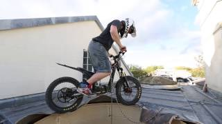 8. trials electric bike extreme Chris Northove and oset project