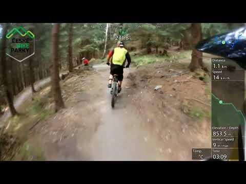 Bikepark Kopřivná Fun Trail 2017