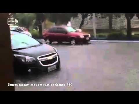 Caos nas ruas do Grande ABC; veja vídeo