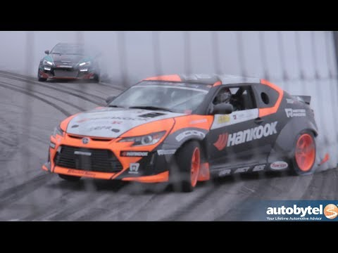 Scion Racing Drift Team at the 2014 Media Day at Irwindale Speedway