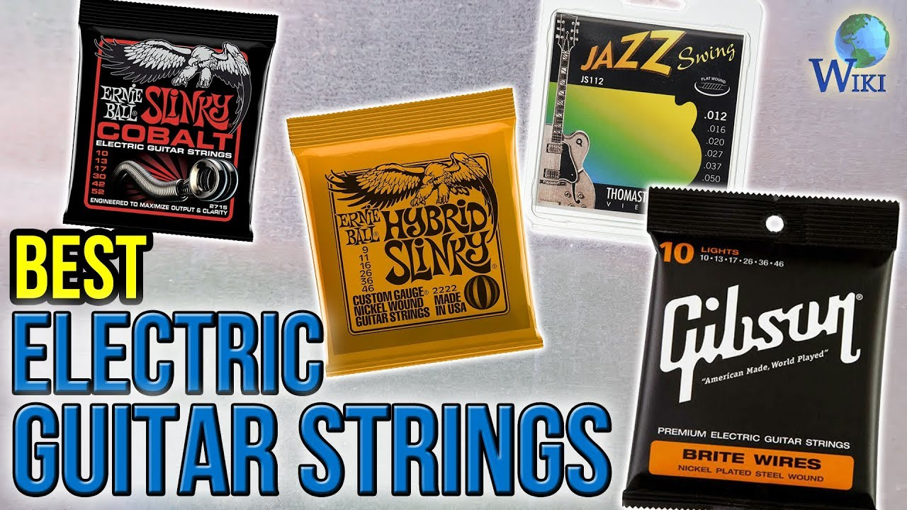 10 Best Electric Guitar Strings 2017