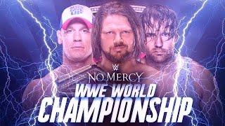 WWE No Mercy 2016 - Aj Styles vs John Cena vs Dean Ambrose (WWE World Championship) - WWE 2K16
