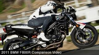6. MotoUSA Middleweight Street Bike Shootout:  2011 BMW F800R
