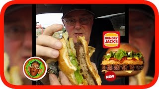 """Hungry Jacks (Burger King), have introduced another burger into their  Grill Masters range. The Angus with Hash Brown Burger. Check out my review of it.Please Share :)#tastetest #foodiehttps://www.hungryjacks.com.auNEW VIDEOS EACH WEEKSend Me Stuff To Test!CHECKOUT THE FOODIE PLAYLISTS:*McDonalds*https://www.youtube.com/playlist?list=PLxEcELMekIpsoVC-YetHuUhOUGJ93wCna*KFC*https://www.youtube.com/playlist?list=PLxEcELMekIpu4KvJh69z76KLxNtHLtrHP*Subway, Nando's, Pizza Hut, Domino's, Krispy Kreme etc*https://www.youtube.com/playlist?list=PL1D51F1A60B60C47B*Hungry Jacks / Burger King*https://www.youtube.com/playlist?list=PLxEcELMekIpth-xtoD0HPRjjyfrv_b7BA*McDonald's Vs KFC Vs Hungry Jacks Vs ???*https://www.youtube.com/playlist?list=PLxEcELMekIpu5gbZZY19dXprd-QBHH2UF*Cadbury, Vegemite, Arnott's*https://www.youtube.com/playlist?list=PLxEcELMekIpvjIHm8dPhURTL1EgWBmVXi*Pub Meals*https://www.youtube.com/playlist?list=PLxEcELMekIptpuU_iUA6k1ojYkZExzHSd*Food Fun & Challenges*https://www.youtube.com/playlist?list=PLxEcELMekIpsbhbCX4Sq7GovKCZmAYebqGOJOMEDIA LINKSGoJo MediaPO Box 411Cockatoo 3781AustraliaSNAPCHAT: gojogeoffINSTAGRAM: http://instagram.com/gojomediaFACEBOOK: https://www.facebook.com/GoJoMediaVINE: https://vine.co/GoJo.GeoffTWITTER: https://twitter.com/GoJoMediaGOOGLE+: https://plus.google.com/u/0/+GoJoMediaGeoffMERCH: http://gojomedia.spreadshirt.com/ZOMATO: zomato.com/gojogeoffMORE GOJOMEDIA CHANNELS*Main Channel*https://www.youtube.com/user/GeoffJennyOliver*Vlogs* https://www.youtube.com/channel/UC3TH5l0Q9Lky1RnR9xMkIXg*Kids*https://www.youtube.com/channel/UCLSB7Ge8_sb_oEEUZy-55LwMUSICYou Tube audio library: Bonanza (Sting)Apple Loops:http://images.apple.com/legal/sla/docs/ilife09.pdf""""You may use the Apple and third party audio content (""""Audio Content"""") contained in or otherwise included with the Apple software, on a royalty-free basis, to create your own original soundtracks for your video and audio projects. You may broadcast and/or distribute your own soundtr"""