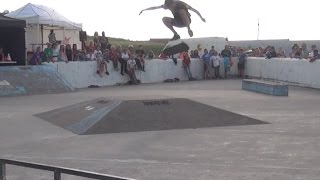 Bude United Kingdom  city pictures gallery : Skateboard/Bmx Competition Final - Crooklets Beach,Bude Cornwall U.K
