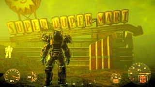 FALLOUT 4 Exploring Super Duper Mart & Cave