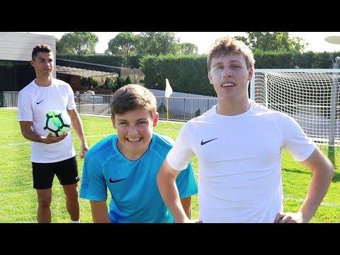 FOOTBALL CHALLENGE vs CRISTIANO RONALDO