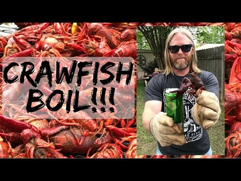 Crawfish Boil Time!!!  Let's Get This Boil On!!!