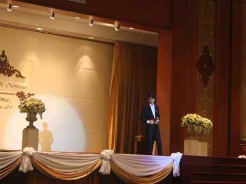 ธนนท์ - งานฉลองมงคลสมรสพระราชทาน ณ หอประชุมกองทัพเรือ.