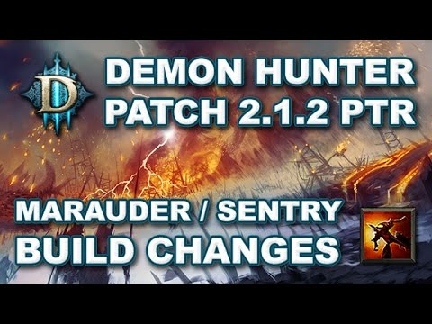 Diablo 3 RoS 2.1.2 Demon Hunter Marauder Sentry - What You Need to Know! (D3: RoS Patch 2.1.2 PTR)