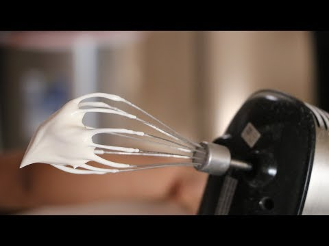 How To Make Stiff Peak/Thick Whipped Cream  At Home? Whipped Cream Tutorial | Stabilized  Cream