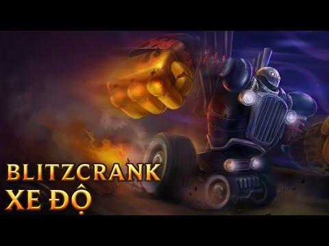 Blitzcrank Xe Độ - Piltover Customs Blitzcrank