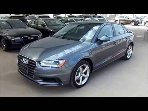 2015 Audi A3 2.0T Premium Quattro Start Up, Exterior/ Interior Review
