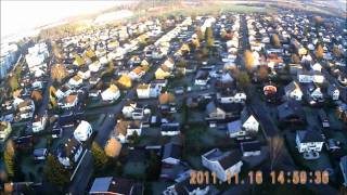 Lillestrom Norway  city pictures gallery : Rc plane with HD cam over Lillestrøm Norway