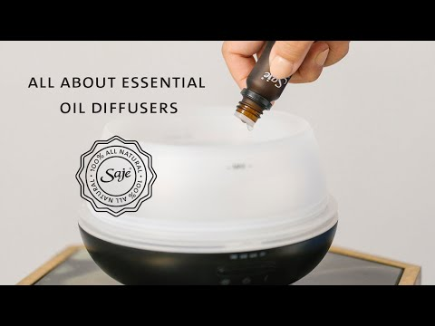 Saje Wellness | All About Essential Oil Diffusers