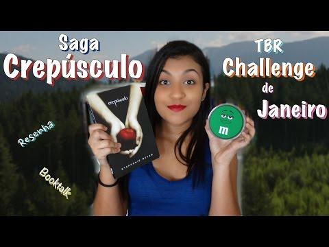 Saga Crepúsculo - Stephenie Meyer | TBR Challenge de Janeiro