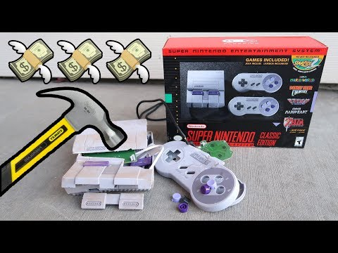 Bored Smashing - SNES Classic Edition!