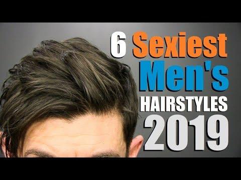 Mens hairstyles - 6 SEXIEST Men's Hairstyles of 2019!