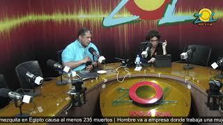 Consuelo Despradel y Angel Acosta comentan sobre el transmisión por motivo al Black Friday