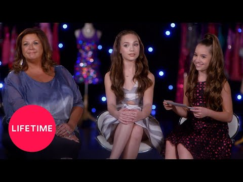 Dance Moms: Maddie, Mackenzie And Abby Answer Fan Questions (Season 6 Flashback) | Lifetime