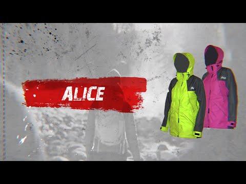 Відео демонстрація куртки мембранної куртки Alice