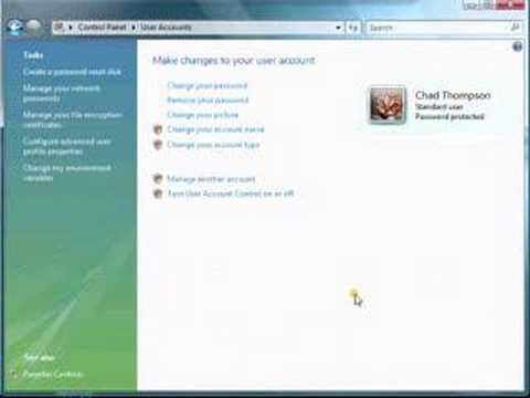 Windows Vista Quick Tip - How To Disable UAC