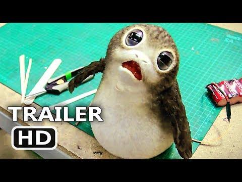 STAR WARS 8 Blu Ray BONUS Trailer (2018) The Last Jedi Deleted Scenes, Movie HD