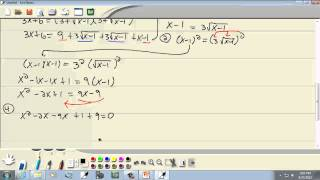 College Algebra: Other Types of Equations