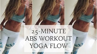 Video YOGANUARY #11 | Abs Workout Yoga Flow For Core Strength | CAT MEFFAN MP3, 3GP, MP4, WEBM, AVI, FLV Maret 2018