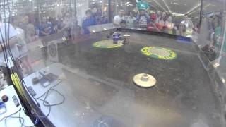 Kilobots XXV: Kilobot Sportsman Fight; Roadbug Vs Triple Action