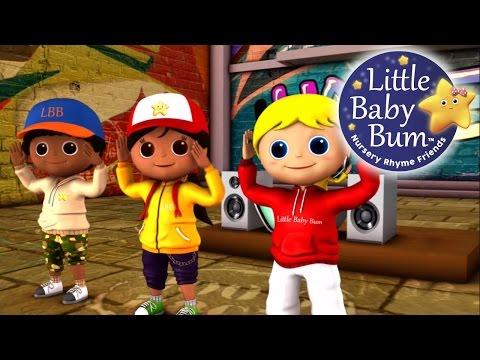 Head Shoulders Knees and Toes   Nursery Rhymes   By LittleBabyBum!
