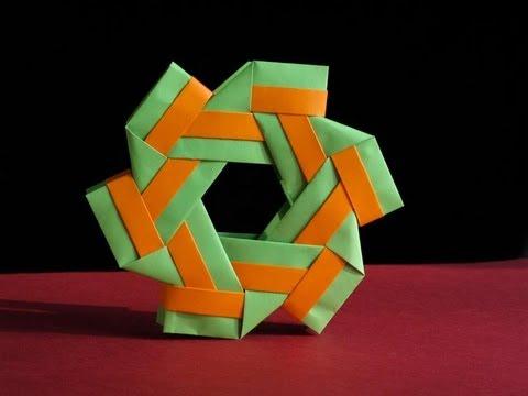 Anillo del Río 3 --Origami Ring Tutorial