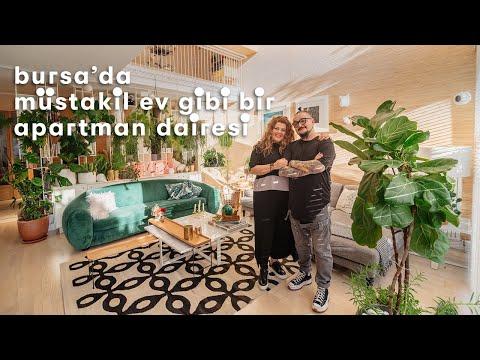 Bursa'da Müstakil Ev Gibi Bir Apartman Dairesi