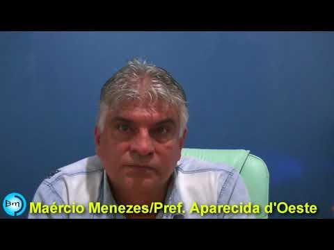 Aparecida d'Oeste - Prefeito Maércio Menezes faz balanço de seu primeiro ano de Administração.